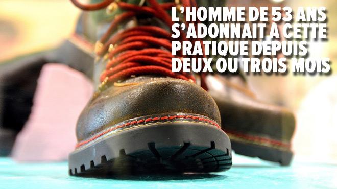 France: il filmait les femmes dans les cabines d'essayage grâce à une mini-caméra bluetooth dans sa chaussure!