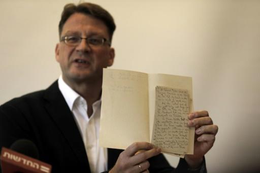 Israël récupère des archives de Kafka pour mettre fin à une saga