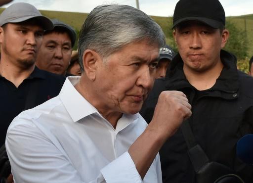 Les forces spéciales kirghizes attaquent la résidence de l'ex-président Atambaïev