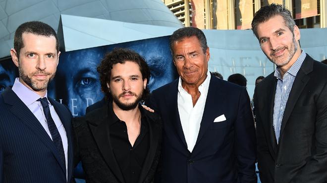 Les auteurs de la série à Succès Game of Thrones viennent de signer un accord avec Netflix