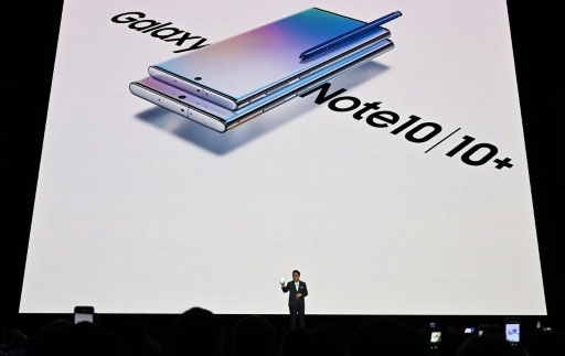 Samsung dévoile son nouveau modèle de smartphone haut de gamme