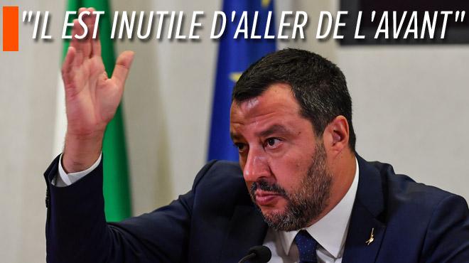 Le gouvernement italien vole en éclat: Salvini fait tomber la coalition en place