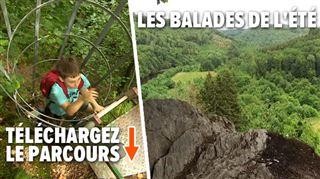Les habitants de Rochehaut se cachaient des nazis grâce à ce chemin- pour y accéder, il faut grimper des échelles! (vidéo)