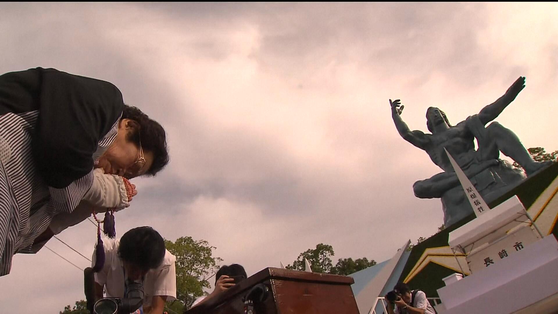 Il y a 74 ans, Nagasaki était touchée par la bombe atomique: aujourd'hui les Japonais veulent la fin des armes nucléaires