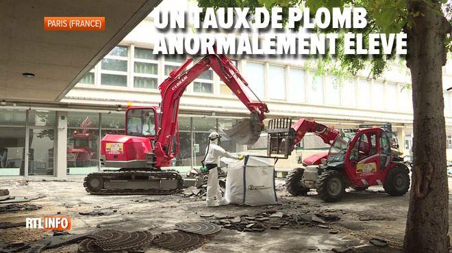 Notre-Dame de Paris- comment éliminer la pollution au plomb dans les écoles à proximité ?