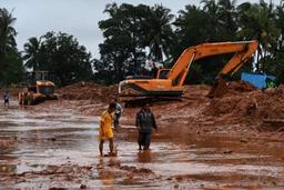Birmanie: 13 morts et des dizaines de blessés dans un glissement de terrain