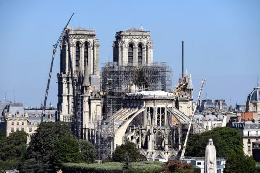 Notre-Dame: reprise prévue du chantier le lundi 19 août