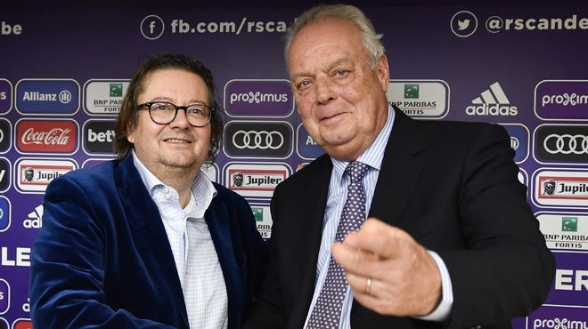Violent échange verbal entre Roger Vanden Stock et Marc Coucke au sujet d'Anderlecht