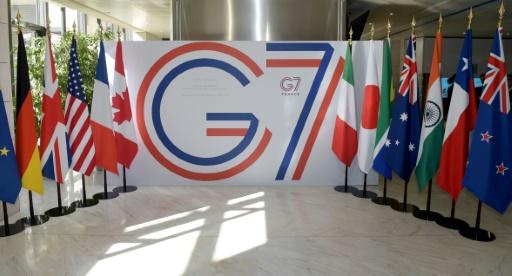 J-15: la France se prépare à un sommet du G7 sous tension