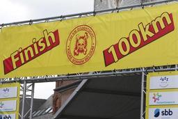 Les premiers participants de la Dodentocht ont bouclé le parcours de 100 km en sept heures