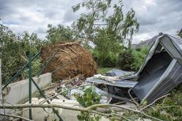 Dix-neuf blessés dans la tornade qui a frappé le Luxembourg