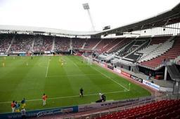Eredivisie - Une partie du toit du stade de l'AZ à Alkmaar s'est effondrée