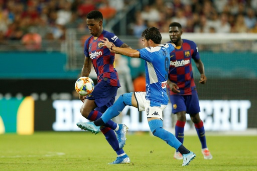 Match amical: Suarez et Barcelone ridiculisent Naples