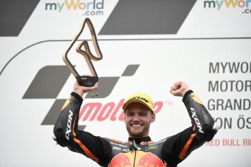 Moto2: Brad Binder offre à KTM une victoire à domicile