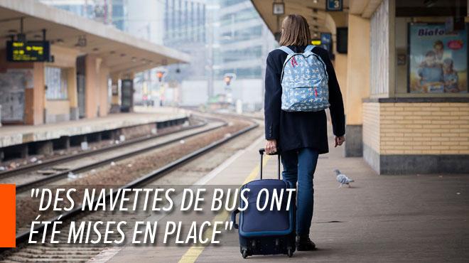 Pagaille sur le rail: le trafic ferroviaire interrompu entre Namur et Bruxelles