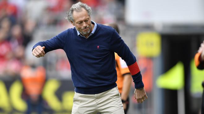 Michel Preud'homme amer après la défaite du Standard: