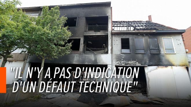 Pompiers décédés à Beringen: le parquet suspecte une intervention humaine