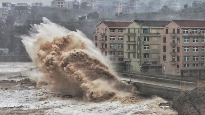 Au moins 49 morts et 21 disparus en Chine: le bilan s'alourdit après le passage du typhon Lekima