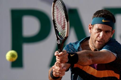US Open: l'Argentin Del Potro, blessé, forfait