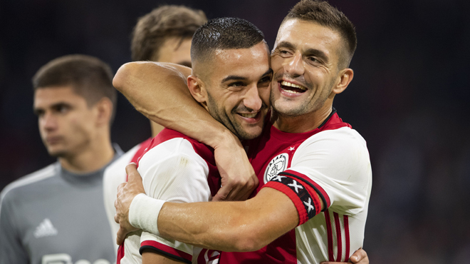 L'Ajax tremble mais se qualifie: voici les affiches des barrages de la Ligue des champions