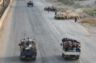 Syrie- les forces prorégime se rapprochent d'une ville clé à Idleb (ONG)