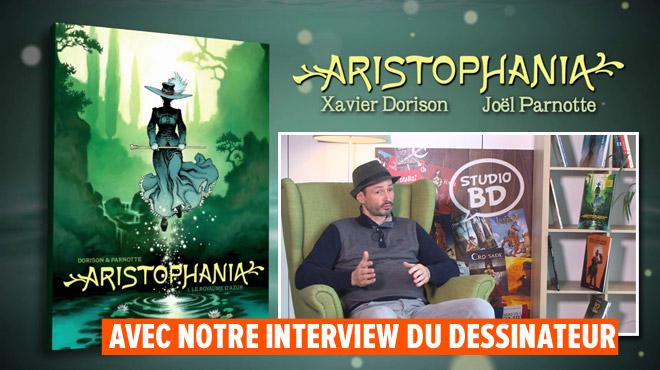 Aristophania, une bd qui invente un genre, la French Fantasy. Action garantie !