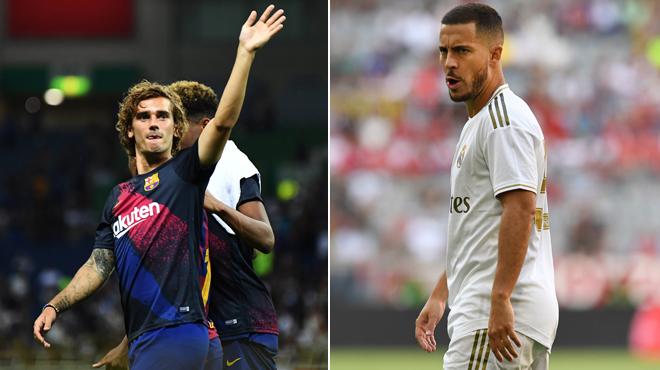 Griezmann, Hazard et des transferts spectaculaires: nouveau record battu pour les clubs de Liga