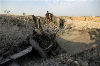 Syrie- un avion du régime abattu par les jihadistes, le pilote capturé