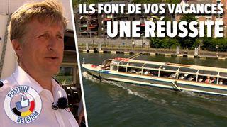 Olivier emmène les touristes sur la Meuse avec le plus gros bateau de Wallonie- J'ai piloté dès mes 18 ans