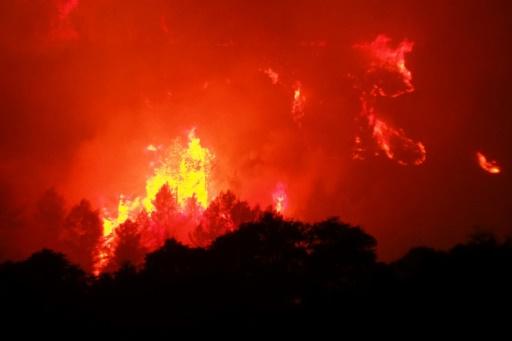 Incendie dans l'Aude: