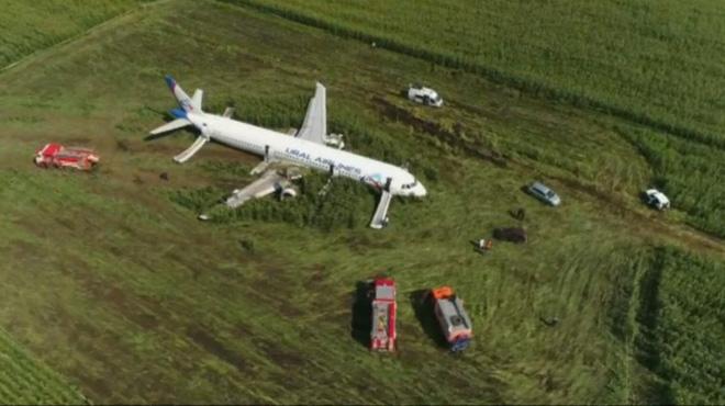 Un avion atterrit d'urgence en Russie après avoir