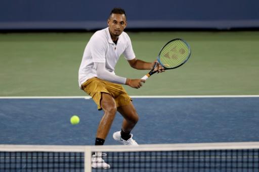 Tennis: raquettes cassées, chaussures lancées dans le public... Kyrgios pète un plomb à Cincinnati