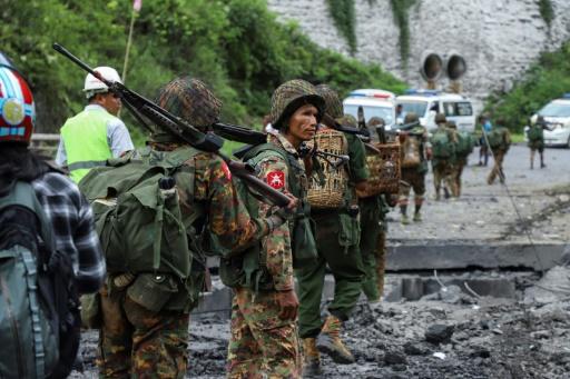 Birmanie: 14 morts dans des combats entre l'armée et des rebelles dans l'est