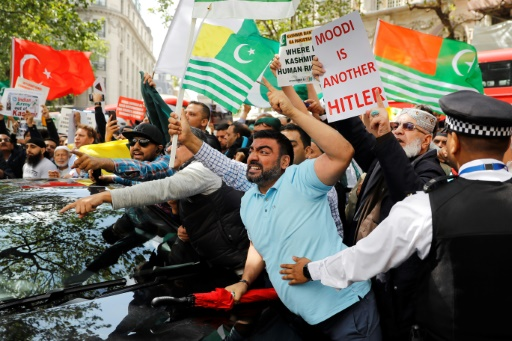Cachemire : des milliers de manifestants contre l'Inde à Londres