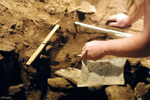 Le squelette d'une mérovingienne mis au jour à Cahors