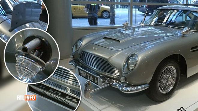 Cette Aston Martin de 1965 possède tous les gadgets de James Bond: elle a été vendue à un prix fou