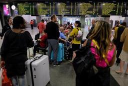 Grève sur le rail - Début d'un mouvement de grève à la SNCB qui s'attend à ce que la moitié des trains roulent