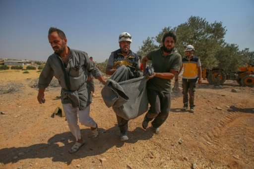 Syrie: 11 civils dont six enfants tués dans des bombardements, selon une ONG