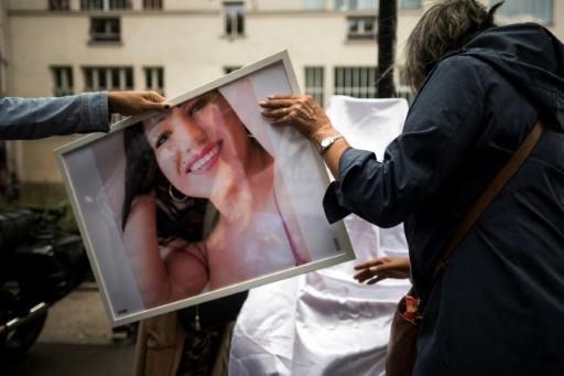 Rassemblement à Paris en hommage à Vanesa Campos, prostituée trans tuée il y a un an