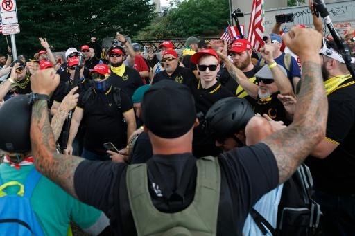 Etats-Unis: pas d'incident majeur à Portland lors de manifestations des deux extrêmes