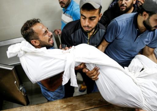 Trois Palestiniens tués à Gaza après une salve de roquettes sur Israël