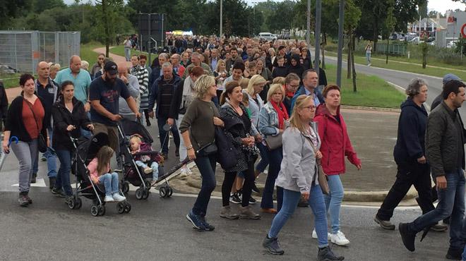 Décès de deux pompiers à Beringen: un millier de personnes leur ont rendu hommage ce dimanche