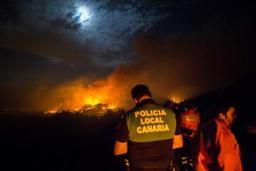Incendie sur l'île de Grande Canarie: 4.000 évacués