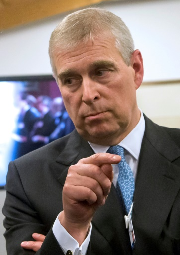 GB: le prince Andrew
