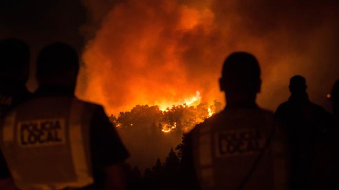 Violent incendie sur l'île de Grande Canarie: 5.000 personnes ont été évacuées