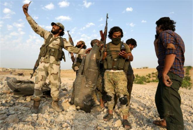 Syrie- les forces du régime entrent dans une ville clé du nord-ouest
