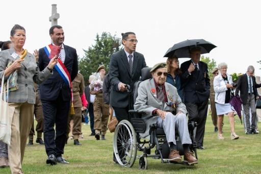 Un vétéran péruvien de 1944 de retour en Normandie