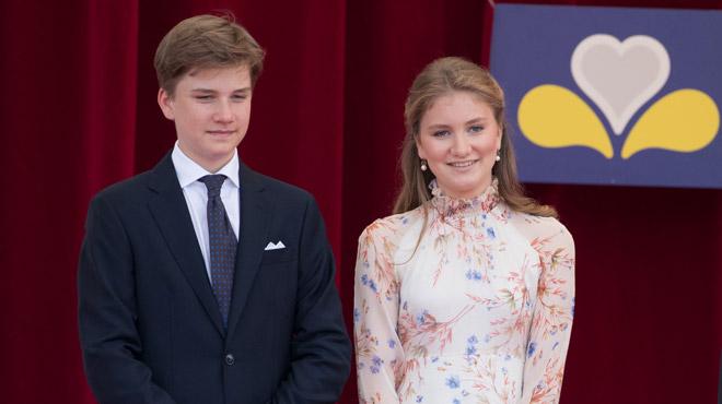 Le Palais Royal publie une nouvelle photo du prince Gabriel à l'occasion de ses 16 ans