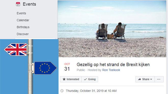 Brexit: des milliers de Néerlandais souhaitent faire leurs adieux au Royaume-Uni sur la plage