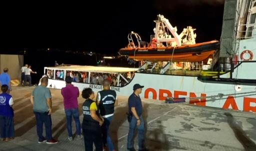 Migrants de l'Open Arms: la France envoie une délégation de l'Ofpra